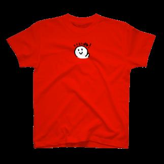TEGAKI屋さんのいいね!丸さん T-shirts