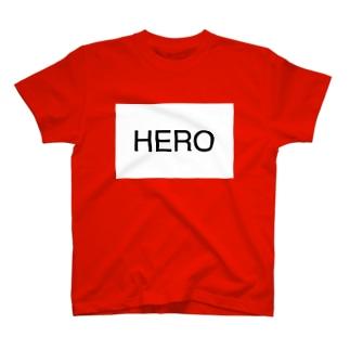 HERO ロゴ T-shirts