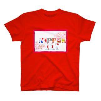 NIPPON&SAKURA T-shirts