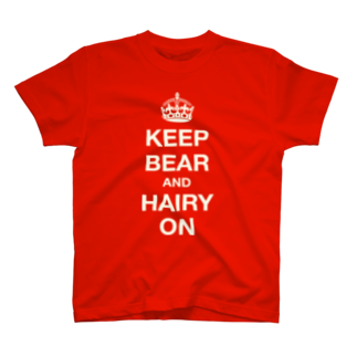 BEARGUNDYのwool T-shirts