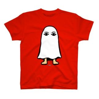 エジプトの神様★メジェドさま★仁王立ち T-shirts