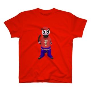 ハクビくんキャップバージョン T-shirts
