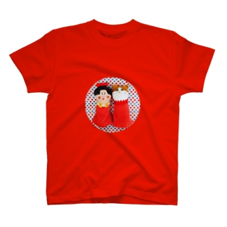 りぼんちゃんとネコ T-shirts