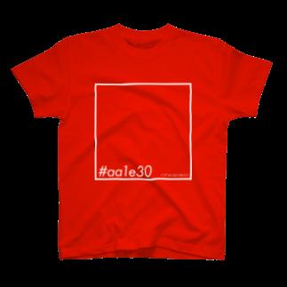 miente GOODe-SIGNの色覚 #aa1e30 T-shirts
