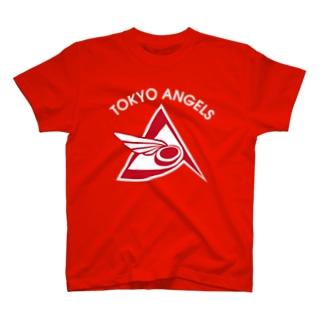 エンジェルス 赤T T-shirts