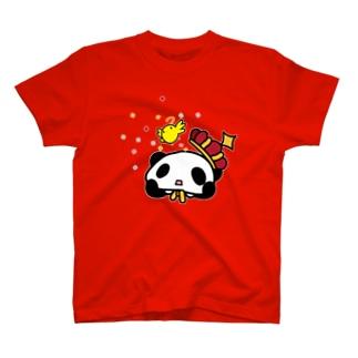 王様ぱんだ。手品。 T-shirts