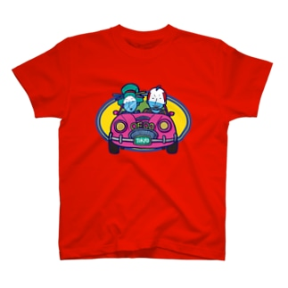 Oedo Drive/濃色Tシャツ T-shirts