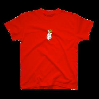area_nの時計うさぎ T-shirts