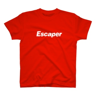 Escaper / Logo Red Body T-shirts