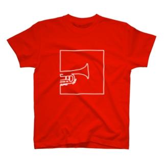 トランペットB T-shirts
