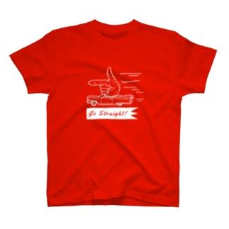 Go Straight! (W) T-shirts