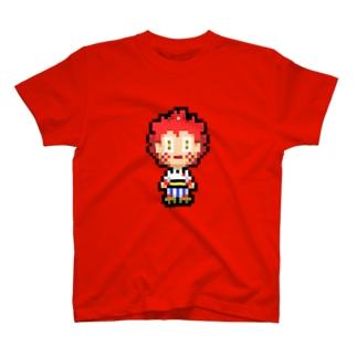 ヒノマル ドット絵デザイン T-shirts
