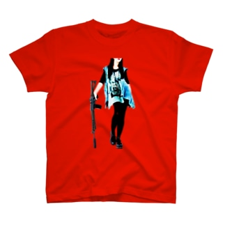 grumble gun girl T-shirts
