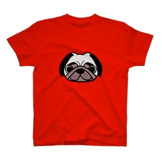 パグおじさんゴロ画伯 T-shirts