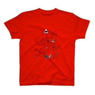 元気に登る T-shirts