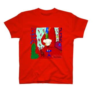 The Red Room/Cafe de Calkyon T-shirts