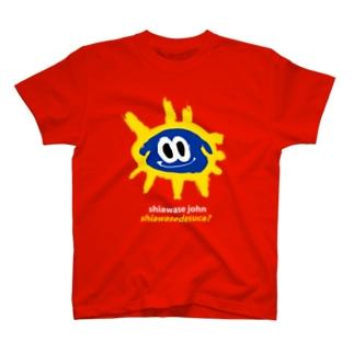 YASHINO CLUB SHOPのSHIAWASEDESUCA? T-shirts