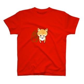 しばじるし。赤柴 T-shirts
