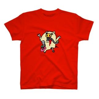 ゾンピッグ T-shirts
