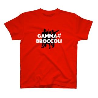 ガンマブロッコリー ダンシングT T-shirts