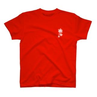 ウチニワのニセアヒル T-shirts