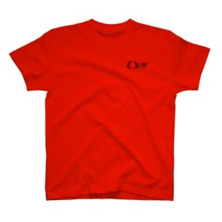 ORIF 黒ロゴ(バックプリント有) T-shirts