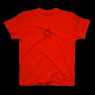 ゆるふわ屋のすまいるアップル T-shirts