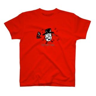 踊る♪ TOP HAT MAN T-shirts