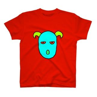 かなり謎な奴Tシャツ T-shirts
