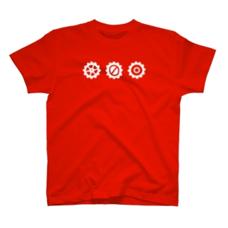 LINED GEAR white3 T-shirts