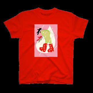 dorochanのながぐつをはいた何か T-shirts