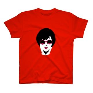 マッシュルームグラス T-shirts