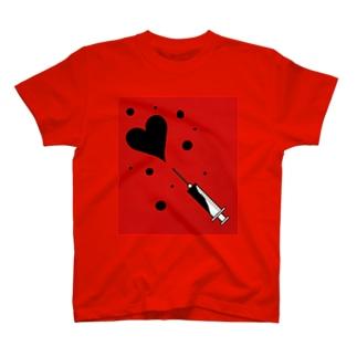 注射器から愛 T-shirts