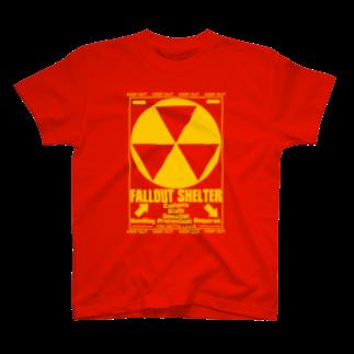 AURA_HYSTERICAのFallout_Shelter T-shirts
