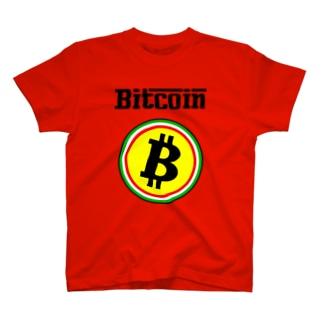 ビットコイン イタリア風 フェラーリ風 仮想通貨 トレード トレーダー 暗号通貨 FX T-shirts