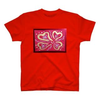四つ葉の銀河 T-shirts