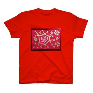 光の結晶 T-shirts