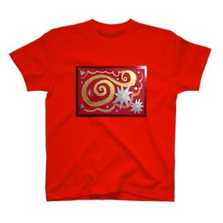 光の渦 T-shirts