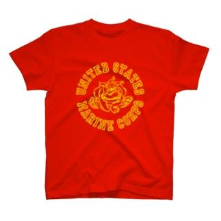 USMC Bulldog T-shirts