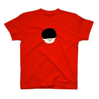 おかっぱくんカラーTシャツ T-shirts