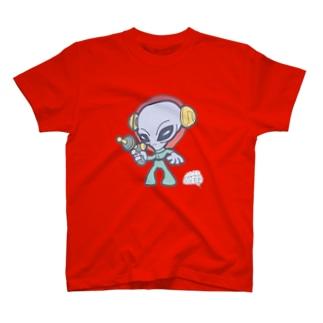 グレイタイプ・エイリアン T-shirts