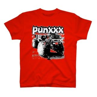 パンク&アメ車 T-shirts