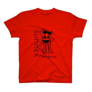 メンダコサマー T-shirts