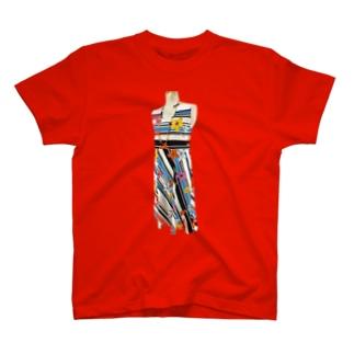 夏祭りワンピースTシャツ T-shirts