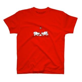 クッキーこねアマミノクロウサギ T-shirts
