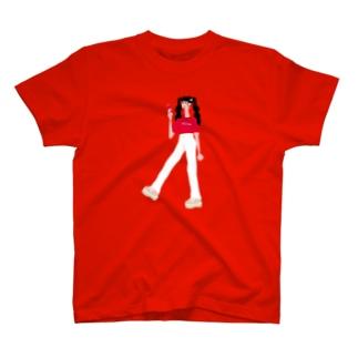 コーラガール T-shirts