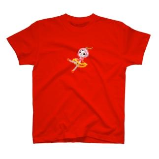 ビーズの人形 T-shirts