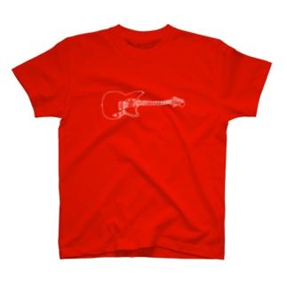 ギターイラスト T-shirts