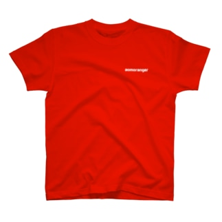 劇団渡辺源四郎商店のなべげんaomorangerTシャツ T-shirts
