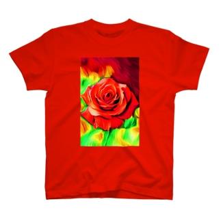 燃え上がる情熱 T-shirts
